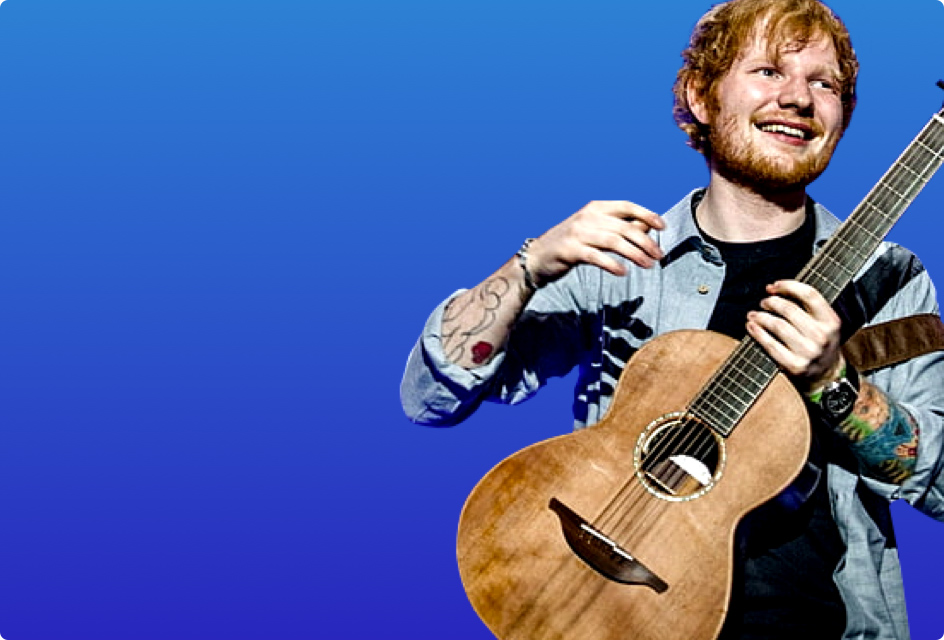 advertia digital | <strong>Ed Sheeran</strong> image